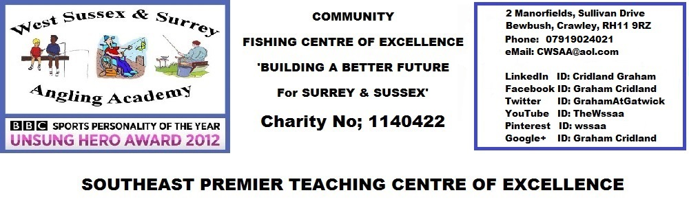 Award Winning West Sussex & Surrey Angling Academy
